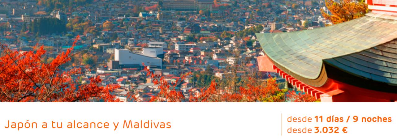 Japon a tu alcance con Maldivas desde 3032€