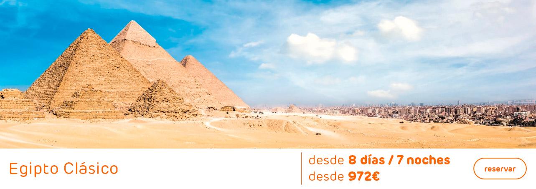 Oferta Egipto Clásico