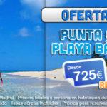 Gran Oferta 2×1 Punta Cana/Bávaro