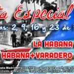 Nuevas Salidas a Cuba para Febrero 2014
