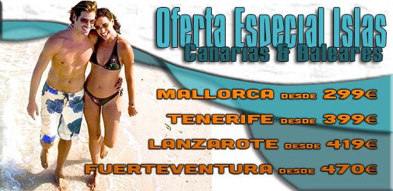 Oferta Canarias y Baleares