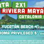 Bajamos el precio de nuestro 2×1 a Riviera Maya