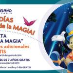 OFERTA DISNEY: NIÑOS GRATIS Y NOCHES ADICIONALES DE REGALO