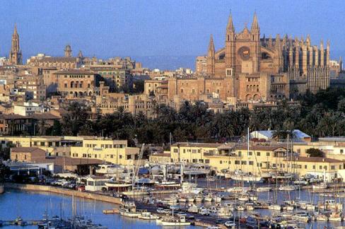 Foto del puerto de Palma de Mallorca