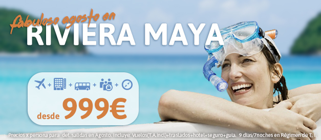 Oferta Rivier Maya Agosto