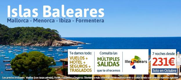 Oferta Islas Baleares, Ofertas Mallorca