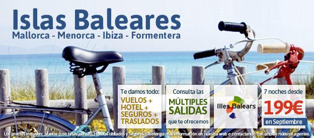 Oferta Baleares Septiembre