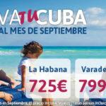 ¿Quien se viene a Cuba? Bajada de precios en Septiembre!!