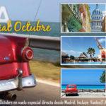 Ofertas Cuba Octubre. Cuba 2X1