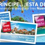 Ampliamos nuestra Oferta Bahía Príncipe Caribe, tres Nuevos Complejos
