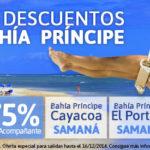 Oferta Caribe Samaná: Bahía Príncipe 75% de Descuento