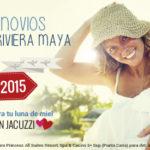 Oferta Viaje de Novios 2016: Puna Cana o Riviera Maya Especial Luna de Miel