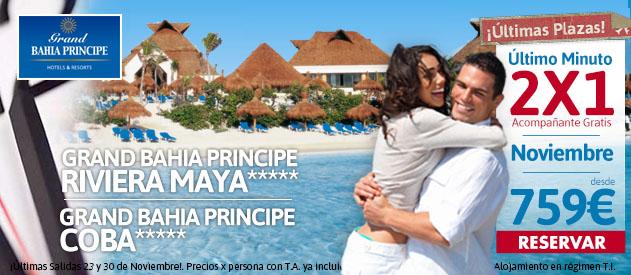 Riviera Maya 2x1