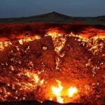 El cráter de Darzava