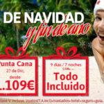 Nuevas Ofertas Caribe Navidad: Punta Cana y Riviera Maya