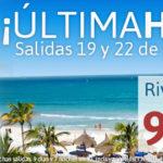 OFERTA ÚLTIMA HORA CARIBE: RIV. MAYA 19/22 DE DICIEMBRE DESDE 919€
