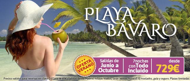 Ofertas De Viajes A Playa Bávaro Salidas Verano 2015