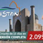 Ofertas de Viajes a Uzbekistán. Oportunidad única hasta el 20 de Junio.