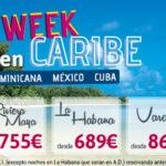 Nueva Oferta de Caribe: ¡Vuelve la Happy Week a Centraldevacaciones.com!