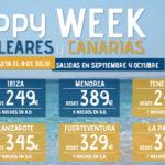 Ofertas Canarias y Baleares: Especial Happy Week
