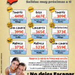Ofertas Agosto Baleares y Canarias desde tu Ciudad