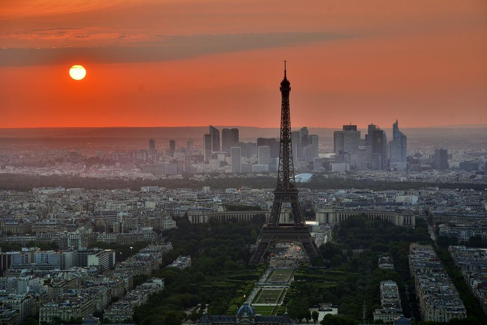 Paris al aterdecer