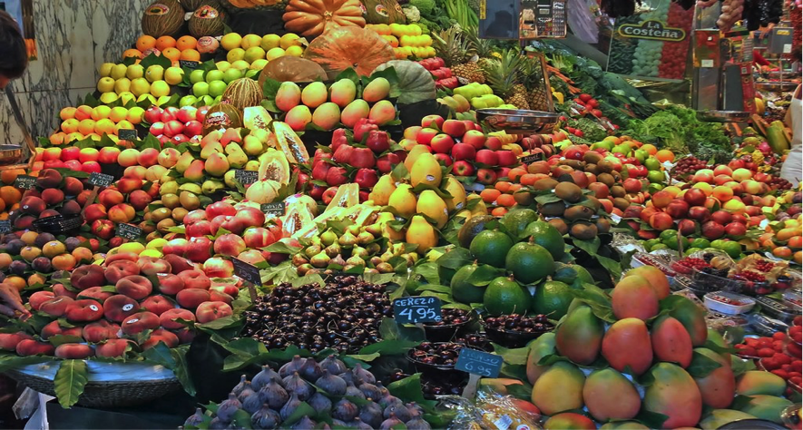 frutas barcelona