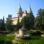 Paseando por el castillo de Bojnice