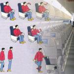 Ejercicios recomendados para vuelos de larga duración