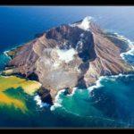 White Island o la isla de los tres volcanes en Nueva Zelanda