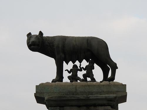 Roma. Romulo y Remo