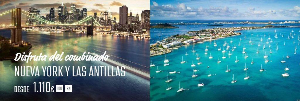 viajes a nueva york y al caribe