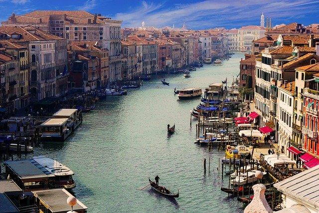 sitios seguros para viajar covid 19, Venecia