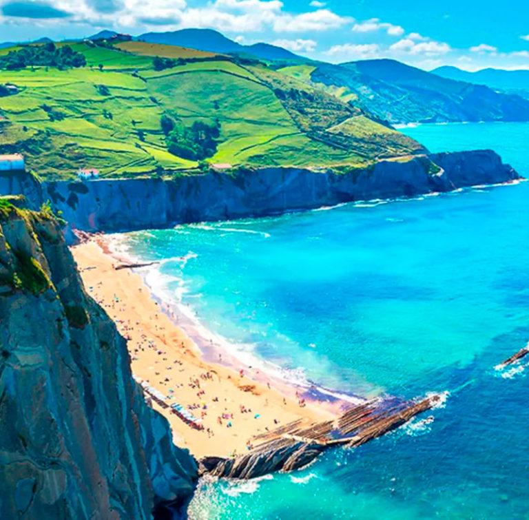 Ofertas de Hoteles en la Costa Vasca: Playa soleada en la Costa Vasca