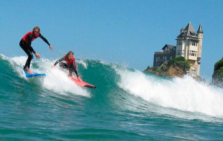 Ofertas de Hoteles en la Costa Vasca: Hacer surf en Biarritz