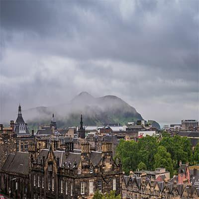 El tiempo en Edimburgo